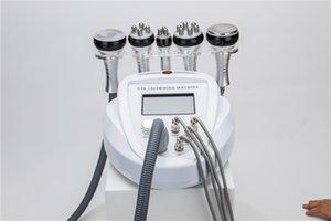 5 dans 1 vide ultrasonique portatif bipolaire de cavitation de fréquence de rf amincissant la machine façonnant la cellulite de retrait de beauté