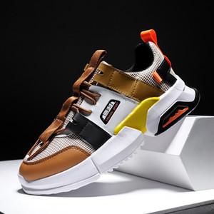 Пользовательский Оптовая Китай Фабрика мода Логотип обувь коренастых мужчины кроссовки для мужчин