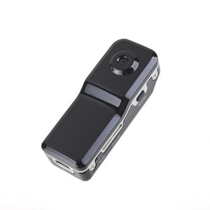 MD80 mini DV con barcket + clip de 720 * 480 30FPS mini cámara de vídeo audio del coche video DVR deportes DV del casco de la cámara MD80