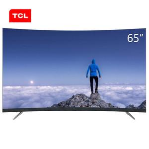 TCL da 65 pollici 34-core 4K + HDR ultra-hd ultrasottile AI intelligenza artificiale discorso superficie curva TV calda nuova TV libera il trasporto!