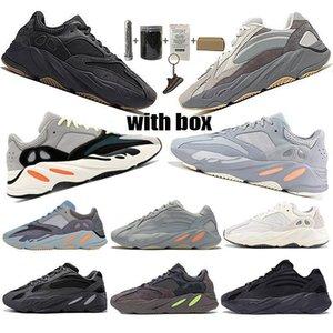 2020 Scarpe recenti Kanye West 700 Saluto corridore corsa Inertia 700 V2 Geode Statico Sport Malva Solid Grey progettisti delle scarpe da tennis Taglia 36-48