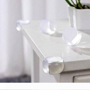 Transparent Silicone Table Corner Edge Cover Guards Safe Protector Baby Children Infant Safety Protection 3M Adhesive