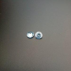 Blue Gemstones Spinel Поставщик 104 # Цвет 7 мм Круглый Good Cut Алмазная Резка Синтетический Loose Stone 200 шт. / Лот