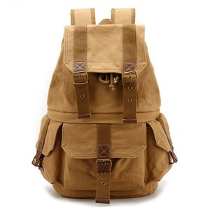Многофункциональный холст плечо сумка для камеры водонепроницаемый открытый Путешествия Отдых рюкзак легкий Canon SLR камера сумка
