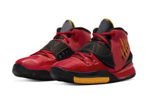 Дети Кирие 6 Брюс Ли обувь горячей для продажи Мужчины Женщины Баскетбол обуви Бесплатная доставка с коробкой груза падения US4-US12
