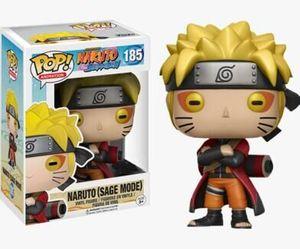 Naruto (Sage Mode) #185 Funko Pop Виниловая фигурка Наруто Шиппуден игрушка в подарок розничная и оптовая торговля