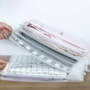 5x Одежда Организатор Тенниска Складного Board Office Desk картотека Чемодан полочных разделители System Шкаф ящик Organizat