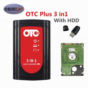2019 OTC Plus 3 en 1 herramientas de diagnóstico para niss-consultar un / a-Yota probador inteligente para vo-LVO vida OBD GTS con HDD