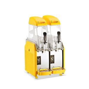 Elektro-Mini-Slush Eismaschine Schneeschmelze Maschine Schnee Schlamm Maschine 24L für Getränke Geschäfte, Schule, Restaurant