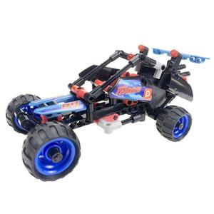 bloklar araba modeli inşa oyuncakları aydınlanma bulmaca küçük parçacıklar montaj Çocuk yapı taşları