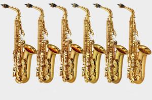 브랜드 뉴 CG 일본 주요 전문 맞춤형 Z Alto Saxophone 82Z 케이스 및 마우스 피스 골드 블랙 래커 칠