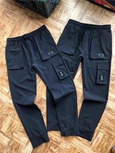 Casual Pant das mulheres dos 20FW Novo Luxo Marca Y3 Designer Pant Pista Masculina Calças Jogger Sweatpant 3.10