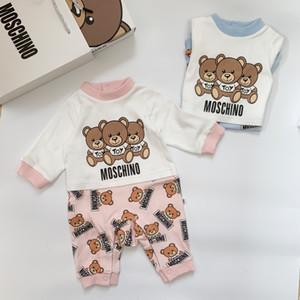 kid kid neonato nuovo tuta delle neonate vestiti Tutina ondulazione acqua i vestiti di cotone del bambino 09196