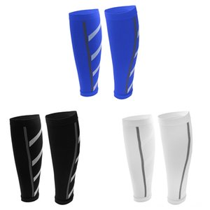 Laufen 3 Paare Calf Compression Sleeve Schutzausrüstung Leg Socken Shin Splint Unterstützung Klammer 3 Paare Lauf Calf Compression Sleeve Cycling