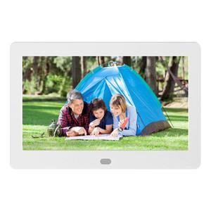 10 بوصة الصور الرقمية الإطار LED الخلفية الالكترونية ألبوم صورة مقطع فديو كاملة وظيفة جيدة هدية لأصدقاء العائلة