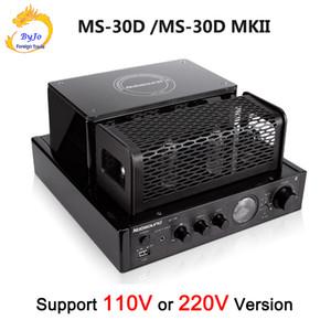 MS-30D و MS-30D MKII 2.1 قناة مركبتي بلوتوث أنبوب مكبر للصوت 25W + 25W 110V / 220V دعم USB مكبر للصوت MS-10D MKII ترقية