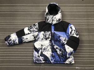 Бренд mountain baltoro пуховики мода 17FW вид на горы ветрозащитная толстая верхняя одежда Снежная куртка