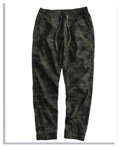 Overalls Casual Loose White Tie Lace Up Pants Fashion Homme Spring Pants Mens Designer Camouflage