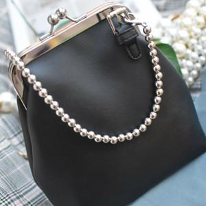 Hot Imite Pérola Bag Strap substituição do ombro Crossbody Handbag Strap 1Pc
