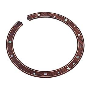 Rosette Schallloch Abziehbilder Inlay-Aufkleber für Acoustic Folk Gitarren-Teile