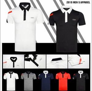 2019Golf Sportswear T-shirt à manches courtes 5colors Vêtements S-XXL Livraison gratuite