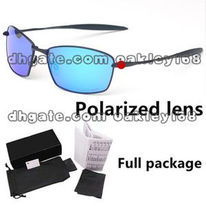 Novo Mens Designer 00976 Sports Metal Frame Óculos De Sol Polarizados Pacote Completo Homens E Mulheres de Metal Driver Sunglasses