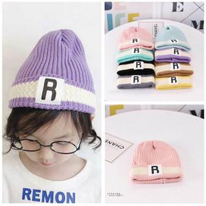 Pudcoco Mode stilvolle Baby-nette Mädchen-Kind-Knitting Caps Beret Wolle HäkelarbeitBeanie Cap-warmer Hut