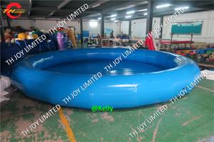 CE Belgeli dayanıklı çocuklar n yetişkinler için büyük şişme yüzme havuzu yuvarlak şişme yüzme havuzu çocuklar