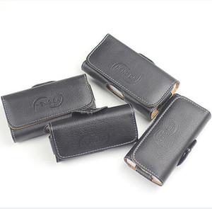 العالمي محفظة جلدية PU أفقي الحافظة الهاتف الحقيبة غطاء حقيبة الخصر مع حزام كليب للحصول على اي فون برو 11 X XS MAX XR 8 6 7 زائد
