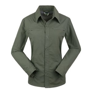 LANBAOSI Quick Dry Shirts for Women Breathable Convertible Sleeve Shirt Hiking Trekking Camping Outdoor Sport Female Tops