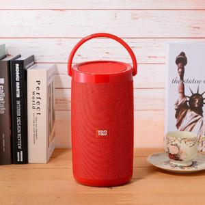 2019 Vente en gros TG133 Bluetooth Mini haut-parleur portable récent SoundBar avec poignée stéréo Hifi Sound Box TF Lecteur de musique sans fil haut-parleur