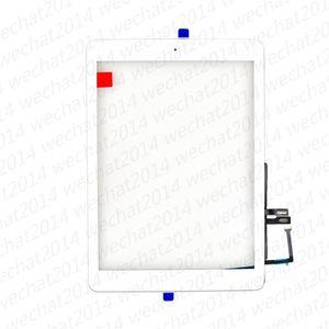 아이 패드 (6) 6에 대한 디지타이저 홈 버튼과 새로운 터치 스크린 유리 패널 2018 A1893 A1954 무료 DHL