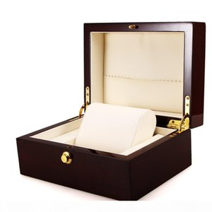 Luxury Wrist Watch Box Handmade Wooden Case Jewelry Gift Box Storage Container Professional Holder Organizer Watches Display