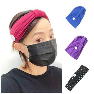 neue Einweg-Maske Anti Strangulation Stirnband Übung Kopftuch Yoga Schweißabsorption Haar Haarband T2I5894 Band Gesicht waschen
