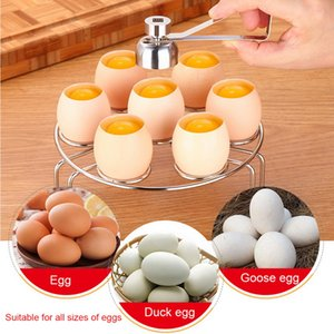 Hifuar yumurta makas paslanmaz çelik haşlanmış yumurta üst kabuk bıçak çiğ yumurta bisküvi ayırıcısını vurur