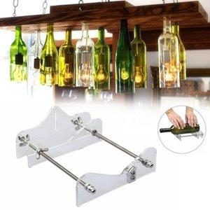Herramienta de corte de botellas de vidrio profesional para el corte de botellas Herramienta de corte de botellas de vidrio Cortador de botellas Máquina de vino Cerveza Seguridad Fácil DIY Herramientas de mano