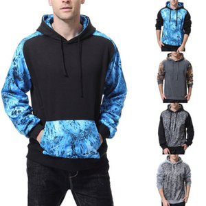 UK STOCK Männer Kapuzen Hoodies Sweatshirt mit Kapuze Pullover Outwear Mantel-Jacken-Tops
