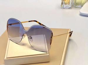 Curtis CE162S Mor Gradyan Sunglasses çerçevesiz çerçeve Güneş Şemsiyeleri kadınların güneş kutusuyla gözlükler Yeni