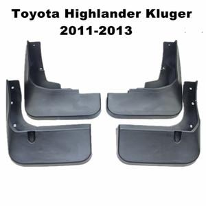 4шт / Set автомобилей Брызговики Брызговики Mud Flap Брызговики Fender для Toyota Highlander Kluger 2011 2012 2013