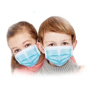 los niños del cabrito MASCARILLA 3 capa protectora mascarillas prevención del polvo del filtro sustancia aceitosa Entrega rápida del envío libre común