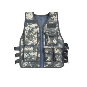 Children Camouflage Sniper Vest Hunting Clothes Kids Boy Girl Woodland Ghillie Suit Army Tactical Uniform Jungle Combat Clothing