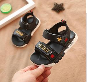 Çocuk Yaz Erkek sandalet 2020 plaj ayakkabıları çocuk Olmayan yumuşak alt bebek sandalet Kayma