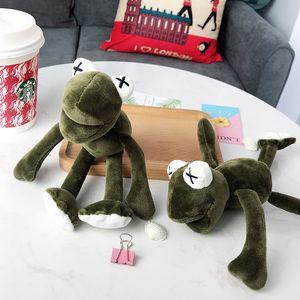 21 cm Sesame Street Plush Toy Cute Anime Plush Toys Regalo para niños Toy Kids Cartoon Long Legged Frog Plush Doll Llavero 1879409