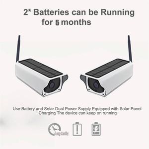 1080P HD Wifi беспроводная IP камера Главная видеонаблюдения Водонепроницаемый Открытый солнечной камеры ИК ночного видения двухсторонняя аудио Cam