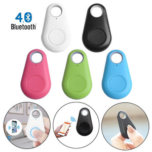 10pcs Mini Smart Bluetooth GPS Tracker Tracker Allarme Allarme Portafoglio Finder Keychain Keychain Pet Dog Tracker Child Carphon Phone Anti Phone Anti Perso Promemoria