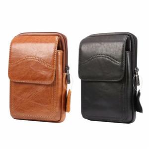 Винтажная мужская сумка через плечо кожаная сумка через плечо высококачественная мужская сумка из натуральной кожи карманы для мобильных телефонов