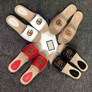 Nuovi mocassini in pelle 2019 Muller pantofole firmate da uomo fibbia da cintura moda uomo e donna Pantofole Princetown da donna casual appartamenti tweed