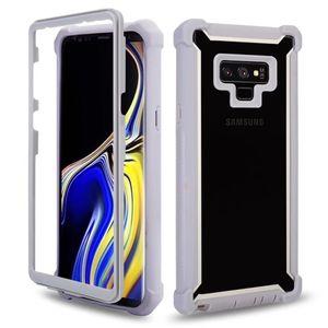 Pour Samsung A10 A10S A20S A10E A20E A20 A30 A70 A70S A30S M10S A50 Note 10 Pro J7 2018 Hybrid J3 Combo 3 en 1 cas Defender couverture