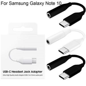USB C bis 3,5-mm-Kopfhörer-Adapter AUX-Audiokabel Typ C 3.1 auf Jack-Adapterkabel für Samsung Galaxy Note 10 10 PLUS A80 A90 A60
