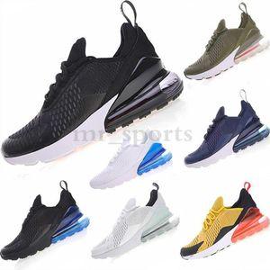 NIKE Air max 270 27 Parra Hot perfurador Photo Blue Mens Women Running Shoes Triplo Universidade Branco Olive Volt Habanero 27C Flair 27s Sneakers 36-45 TH165